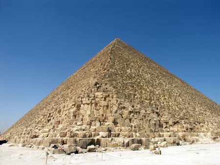 tremendous: The Great Pyramid of Cheops (Khufu).