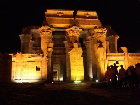 Kom Ombo Temple, Egypt Archivio Fotografico