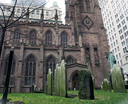 Trinity Church, New York Stok Fotoğraf - 713604