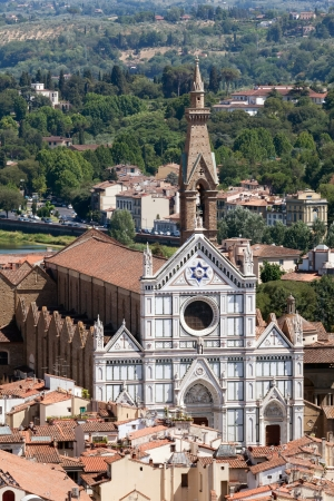 Basilica of Santa Croce (Basilica of the Holy Cross), Florence, Italy photo