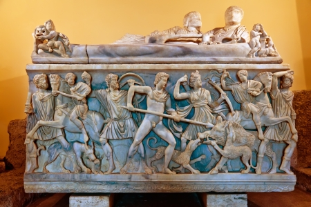 Römischer Orgio-Szenen