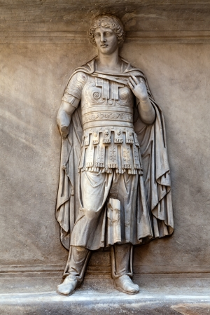 Ancient Roman relief from Hadrian
