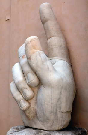 constantine: Right hand of the Colossus of Constantine