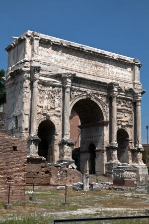 severus: Triumphal arch of the Emperor Septimius Severus