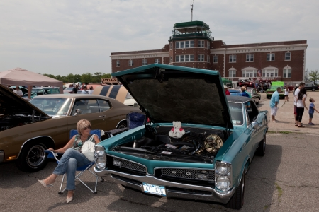bennett: Pontiac GTO at the Antique Automobile Association of Brooklyn Annual Show on June 10, 2012 at the Floyd Bennett Field in Brooklyn, New York, USA   Editorial