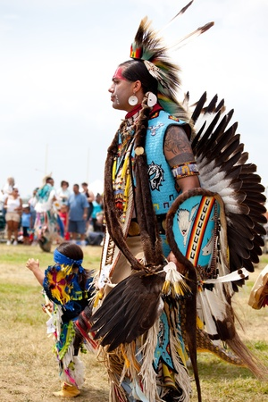 pow: Pow Wow Native American Festival at Floyd Bennett Field on June 6, 2010 in Brooklyn, NY