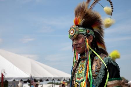Pow Wow Native American Festival at Floyd Bennett Field on June 6, 2010 in Brooklyn, NY