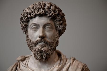 escultura romana: Marco Aurelio fue emperador romano desde 161 hasta 180 CE Gobern� con Lucio Vero como co-emperador desde 161 hasta Verus