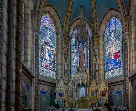 vow: The Basilica of the National Vow is a Roman Catholic church located in the historic center of Quito, Ecuador  It is the largest neo-Gothic basilica in the Americas