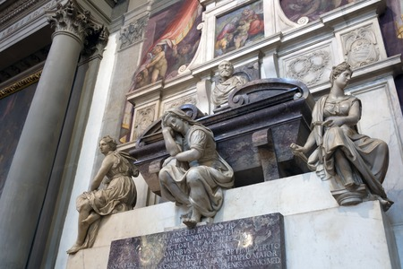 engineer's: Michelangelo s tomb in the Basilica of Santa Croce, Florence  Michelangelo di Lodovico Buonarroti Simoni was an Italian sculptor, painter, architect, poet and engineer of the Renaissance