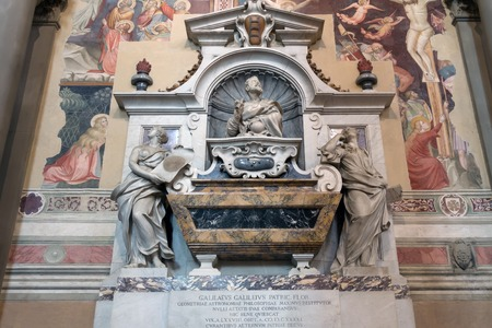 Galileo Galilei s tomb in the Basilica of Santa Croce, Florence  Galilei was an Italian physicist, mathematician, engineer, astronomer  He played a major role in the scientific revolution