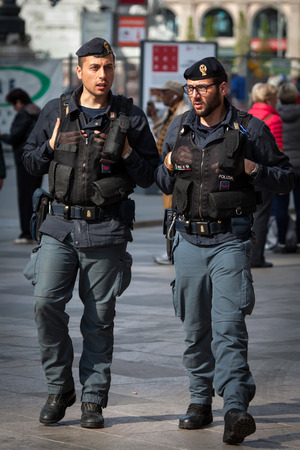 police state: Italian State Police is the main force for providing police duties responsible for highway patrol railways airports and customs.