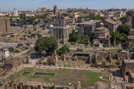 judicial: Roman Forum was the center of political, commercial and judicial life in ancient Rome. Many of the most important city structures were located on or near the Forum.