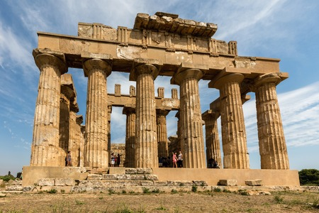doric: Temple E (490-480 BC) in Selinunte, thought to be dedicated to Hera, considered to be one of the finest examples of Doric architecture in Sicily.