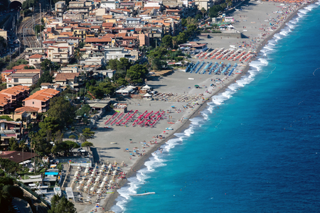 Taormina is Sicilys most famous, upmarket and expensive resort, famous for its high quality beaches.