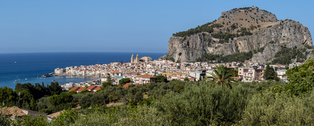 The city of Cefalu, the ancient Kephalodion - a Greek term that means Head and refers to the natural shape of the Rock which dominates the city.