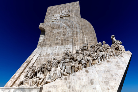Monument to the Discoveries, architect Cottinelli Telmo, sculptor Leopoldo de Almeida, inaugurated in 1960 to commemorate the countrys golden age of world expansion