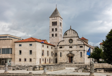 Church of St. Mary in Zadar, Croatia, a Benedictine monastery founded in 1066.