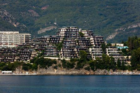 Dukley Hotel & Resort on the Budva Riviera.