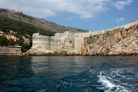 Fortress Bokar in Dubrovnik, Croatia, started in 1461, completed to its preset state in 1570, considered to be an example of harmonious and functional fortification architecture. Editöryel