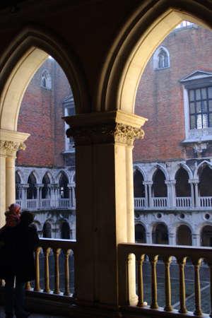 palazzo: Courtyard of Palazzo Ducale