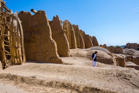 Nashtifan Windmills, Khaf, Iran. The Oldest operational windmills in the world.