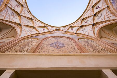 Tabatabaei House in Kashan, a marvel of arts and architecture
