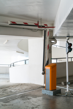 Car park barriers. The ideal solution for professional parking applications in a multi-storey car park or an underground garage