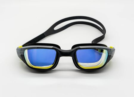 High quality fashion mercury coated swimming goggle Reklamní fotografie