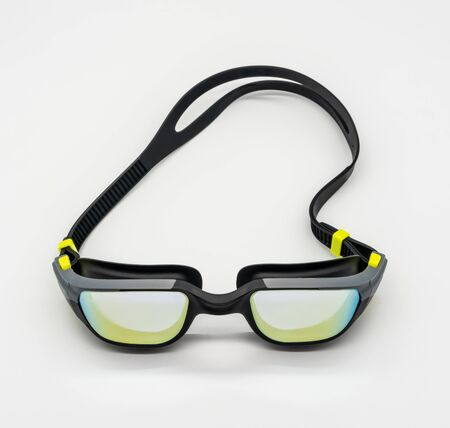 High quality fashion mercury coated swimming goggle Stok Fotoğraf