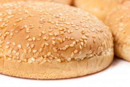 Closeup of Burger Buns