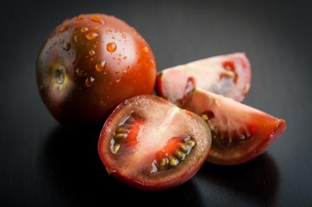 Black krim tomatoes Standard-Bild
