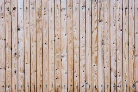 Planks of wooden wall texture background Standard-Bild