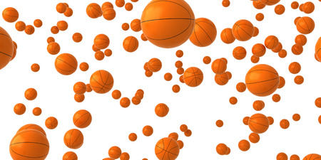 nba: Basketballs Stock Photo