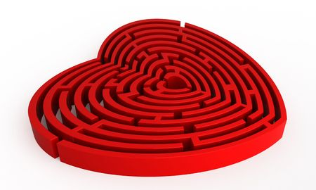 image date: Labyrinth - heart form