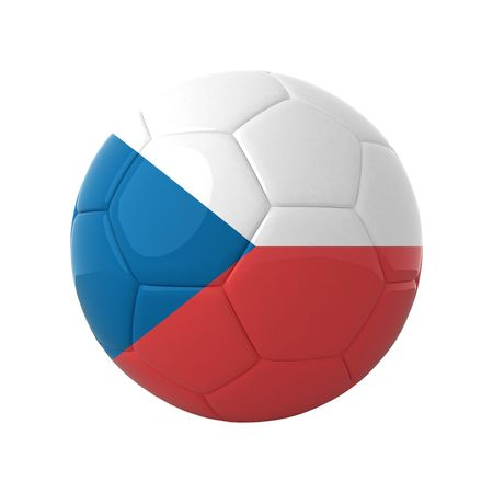 Czech football for europes championship. photo