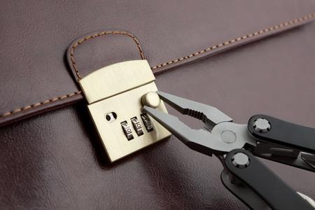 Breaking lock Stock Photo - 8380108