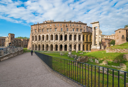Rome, the capital of Italy. Stock Photo