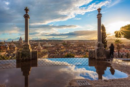 Rome, the capital of Italy. Banco de Imagens