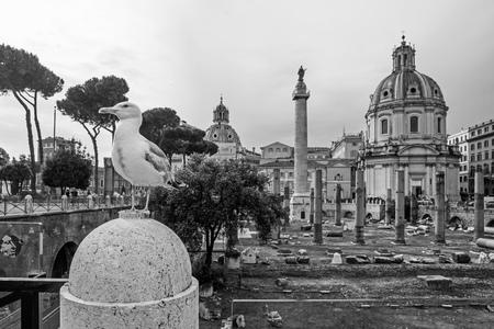 Rome, the capital of Italy. Stock Photo