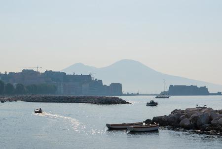 south italy: NAPLES (Campania, Italy) - The biggest city of south Italy Stock Photo