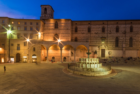 priori: Perugia, an awesome medieval city, capital of Umbria region, central Italy