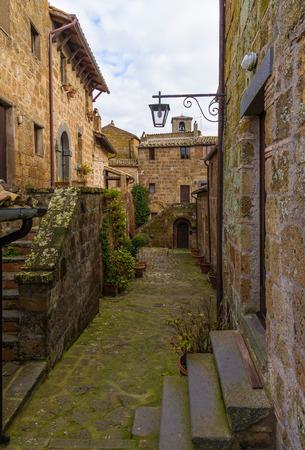 tuscia: Civita di Bagnoregio (Viterbo, Lazio), central Italy - The town is dying That
