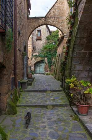 viterbo: Civita di Bagnoregio (Viterbo, Lazio), central Italy - The town is dying That