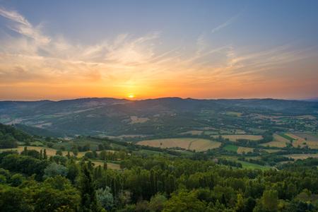 umbria: Todi (Umbria, Italy) - Sunset