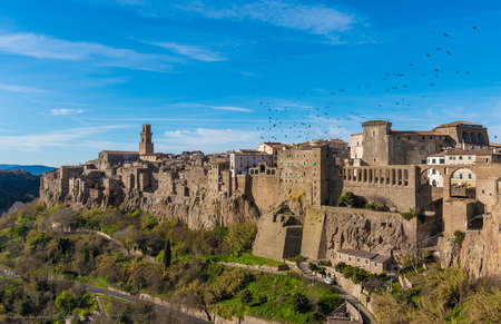 alte: Pitigliano (Italy) - The gorgeous medieval town in Tuscany region, known as The Little Jerusalem