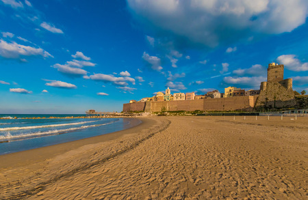 Termoli (Italy) - A touristic city on Adriatic sea in the province of Campobasso, Molise region, southern Italy