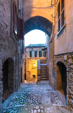 poetic: Casperia, Rieti - 23 December 2016 - A delightful and quaint medieval village in the heart of the Sabina, Lazio region
