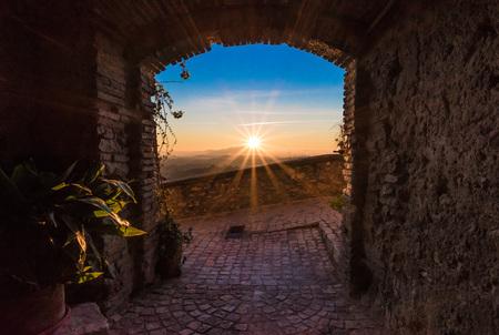 Casperia (Italy) - A delightful and quaint medieval village in the heart of the Sabina, Lazio region