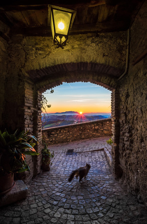 poetic: Casperia (Italy) - A delightful and quaint medieval village in the heart of the Sabina, Lazio region